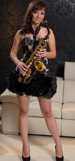 la saxofon