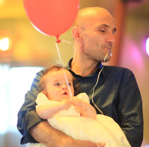 Tata are grijă și de baloane