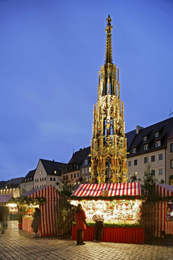 Christmas Market in Nuernberg Germany