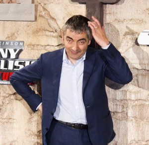 "Rowan Atkinson presenta en Madrid ""Johnny English returns"""