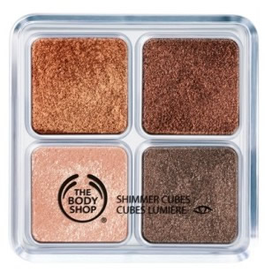 Shimmer Cubes Palette Chocolate Box the body shop 89 lei