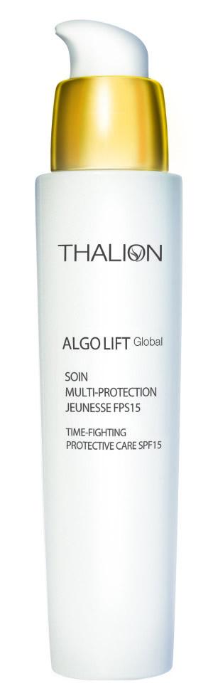 Tratament hidratant protector pentru ten, cu FPS 15, Thalion Algo-Lift Global, 217,60 lei, www.melkior.ro