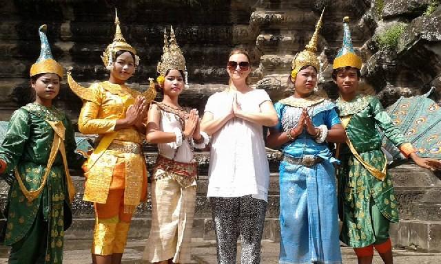 Banteay Kdei Templu budist în Angor Wat