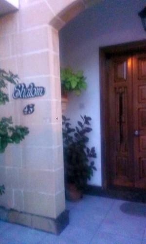 intrarea intr-o casa din Malta