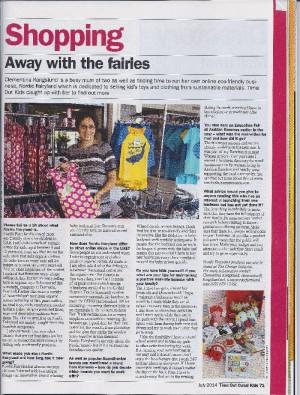 Un articol despre mine in Time Out Dubai Kids in iulie 2014