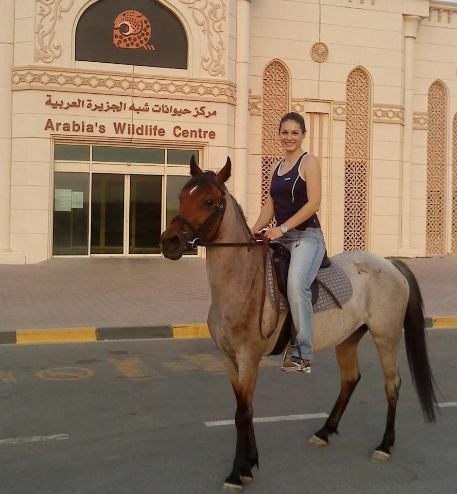 În Dubai, la o plimbare