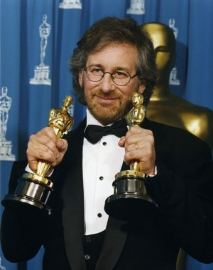 Steven Spielberg at the 64th Annual Academy Awards, 1992