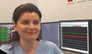 Elena Ene, medic rezident în Germania