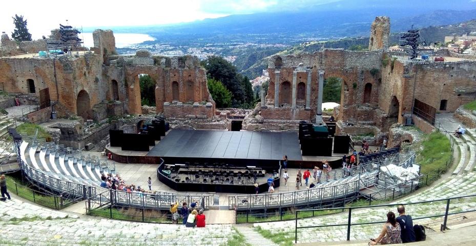 Taormina Teatrul Antic