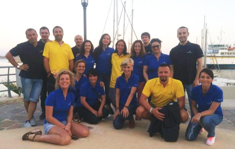 Cu echipa Yachting Lifestyle