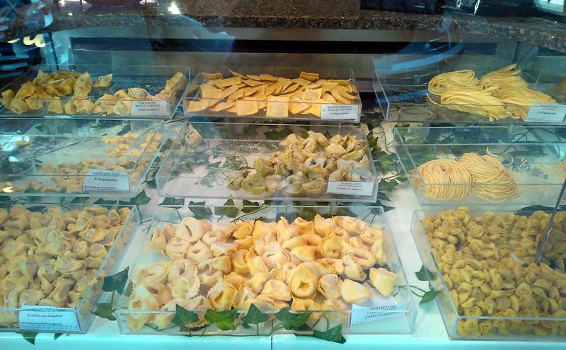 Pasta in Milan