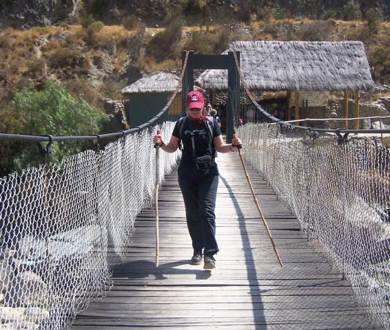 Pod pe drumul incașilor