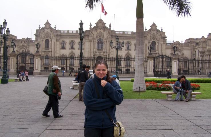 Lima, Plasa de Almas, Palatul prezidențial