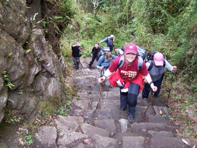 Ultimul urcuș spre Machu Picchu