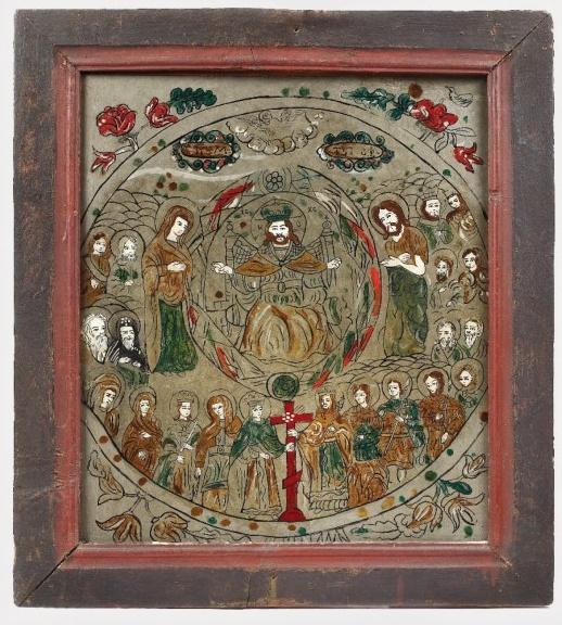 """Icoana """"Duminica Tuturor Sfinților"""", colecția Emil Cioran"""