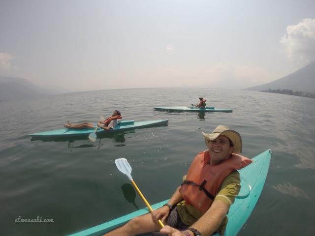 Guatemala, Lacul Atitlan, traversare spre San Marcos