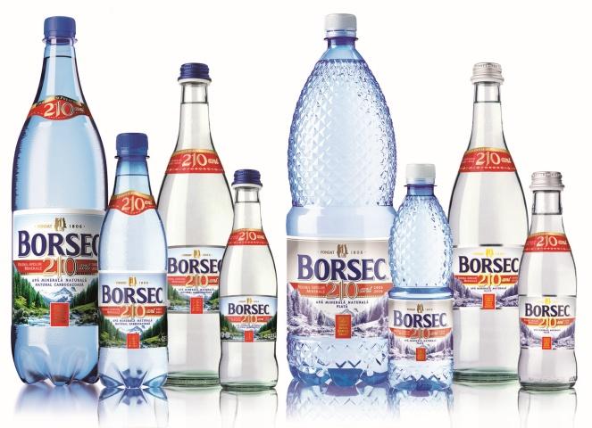Produse Borsec 210 ani