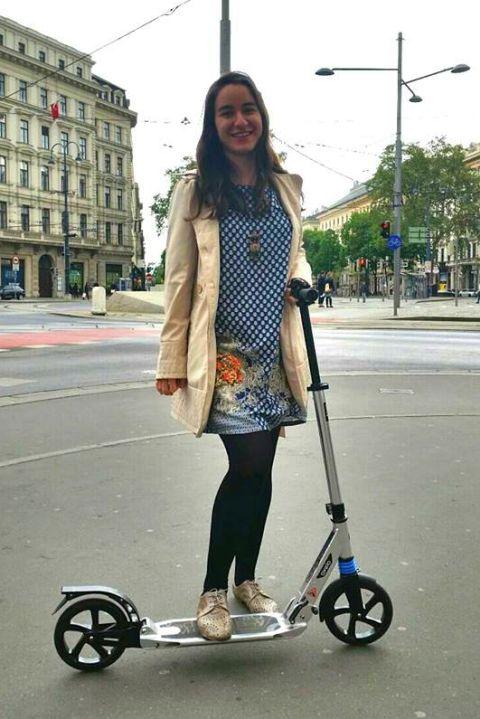 in weekend pe străzile din Viena