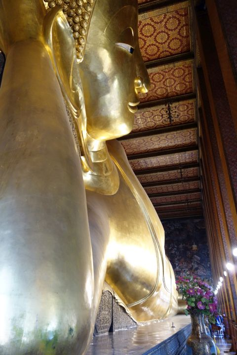 Reclining Budha