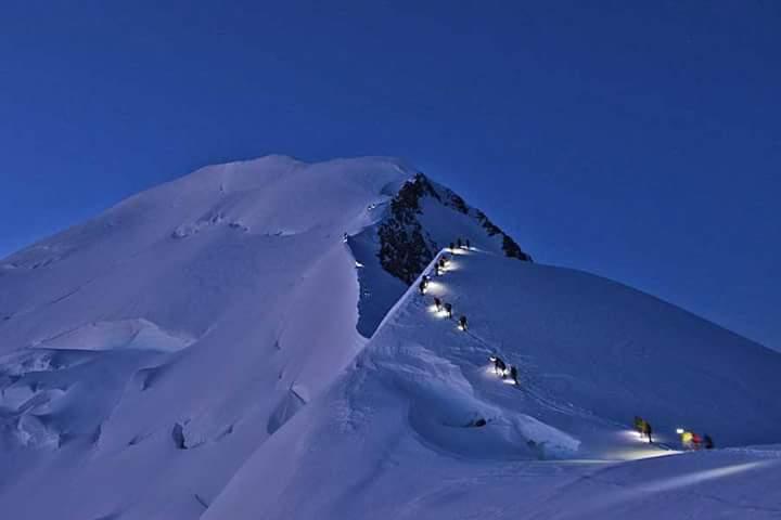 Mont Blanc, Mirela Anastasescu
