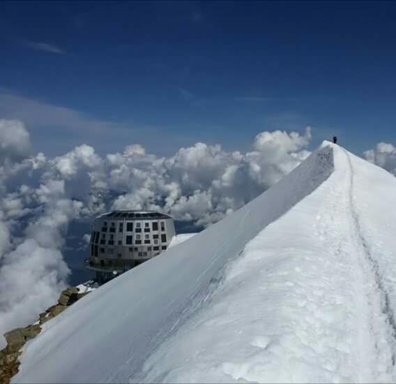 Refuge du Gouter, Mont Blanc, iulie 2016