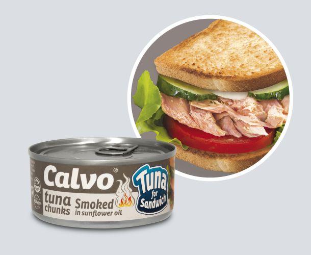 Calvo Tuna for sandw can+circle_SMOKED