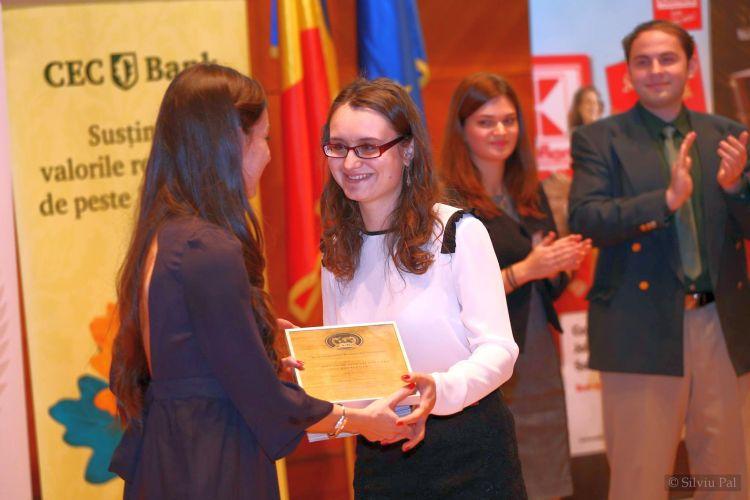 """La Gala Ligii Studenților Români din Străinătate"""", unde a luat o mențiune"""
