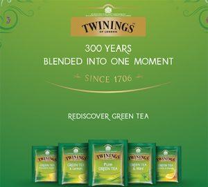 twinings ceai verde combinatii noi