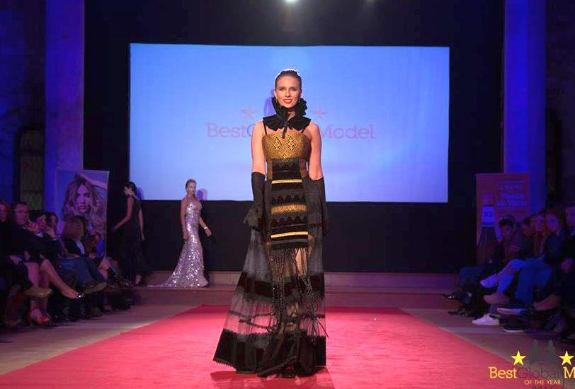 rochie din Zestrea de Liliana Țuroiu, desemnată cea mai frumoasă ținută la Best Model of the Year 2016
