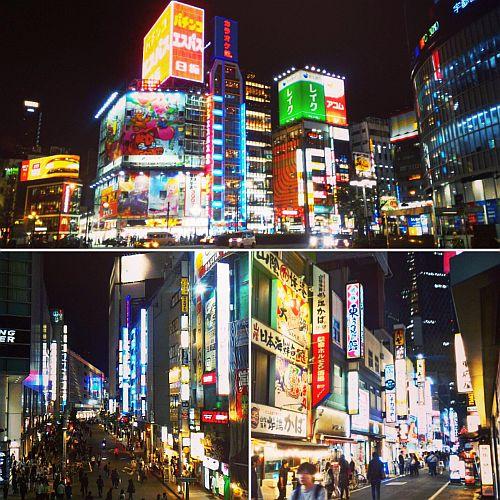 Experiența japoneză, Shinjuku, Tokyo
