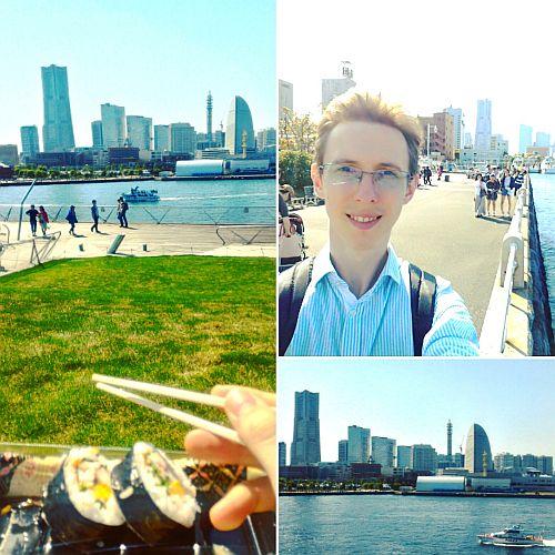 George-Cristian Potrivitu, experiența japoneză, Yokohama