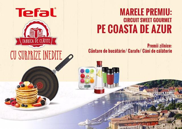 Tefal Fabrica de Clătite oferă Marele Premiu un circuit sweet gourmet pe Coasta de Azur