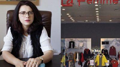 La Femme își comandă hainele doar în Franța