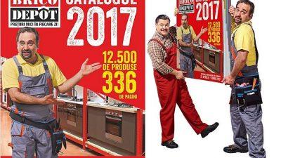 Catalogul Brico Dépôt 2017, o premieră națională