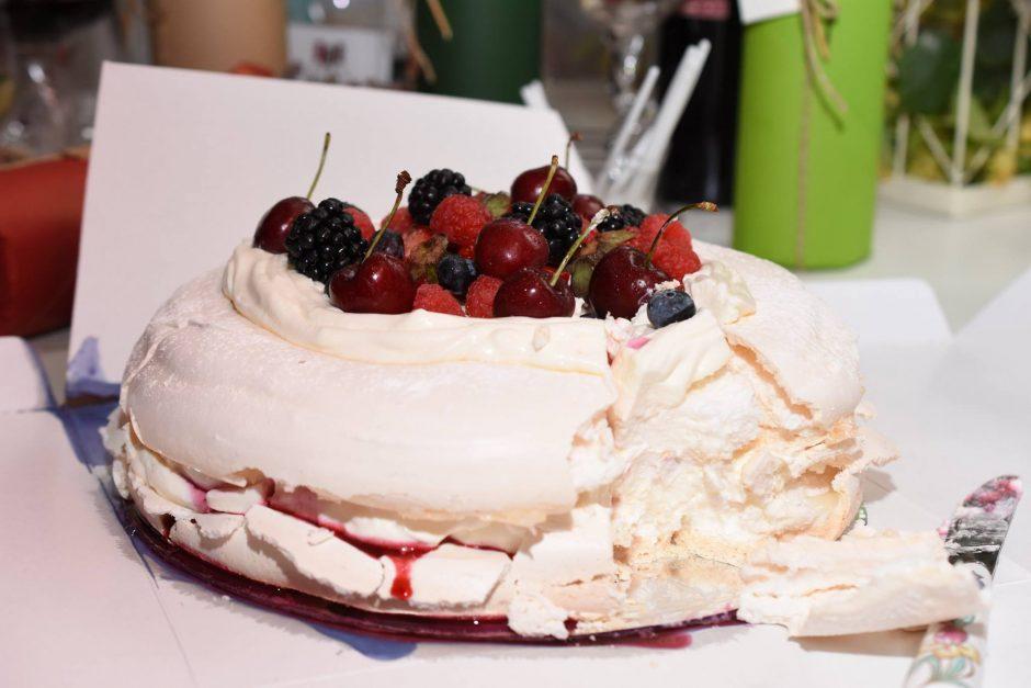 Festivalul blogurilor și vinurilor, prăjitura Pavlova