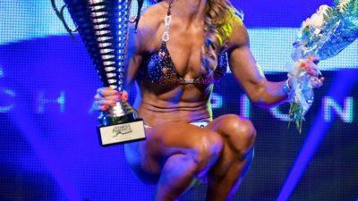 Anca Bucur se pregătește să cucerească un nou titlu Miss Fitness Universe