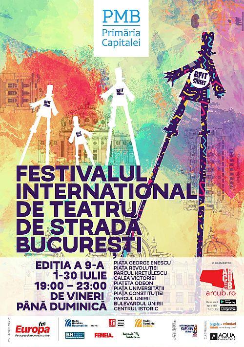 Festivalul Internațional de Teatru de Stradă B-Bit in the street