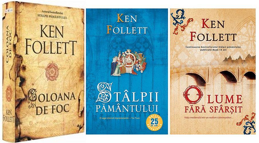 Coloana de foc, a treia carte din trilogia lui Ken Follett