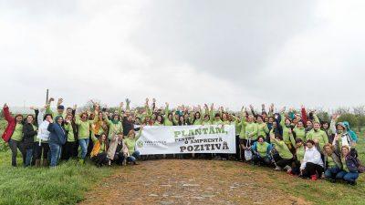 Yves Rocher-Institut de France plantează arbori în România