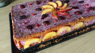 Prăjitura Răcoarea pădurii, de Gabriela Rauca Almășanu