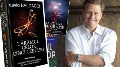 """David Baldacci, cu un nou bestseller: """"Tărâmul celor 5 cercuri"""""""