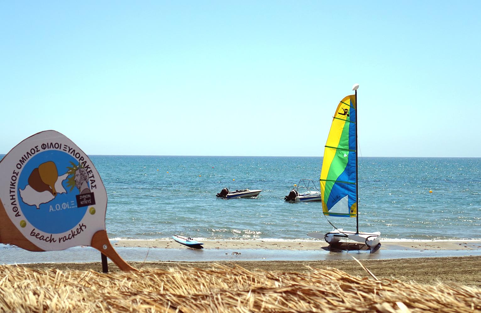 la plajă în Larnaca