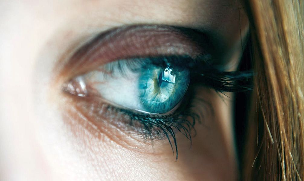 ochii albaștri