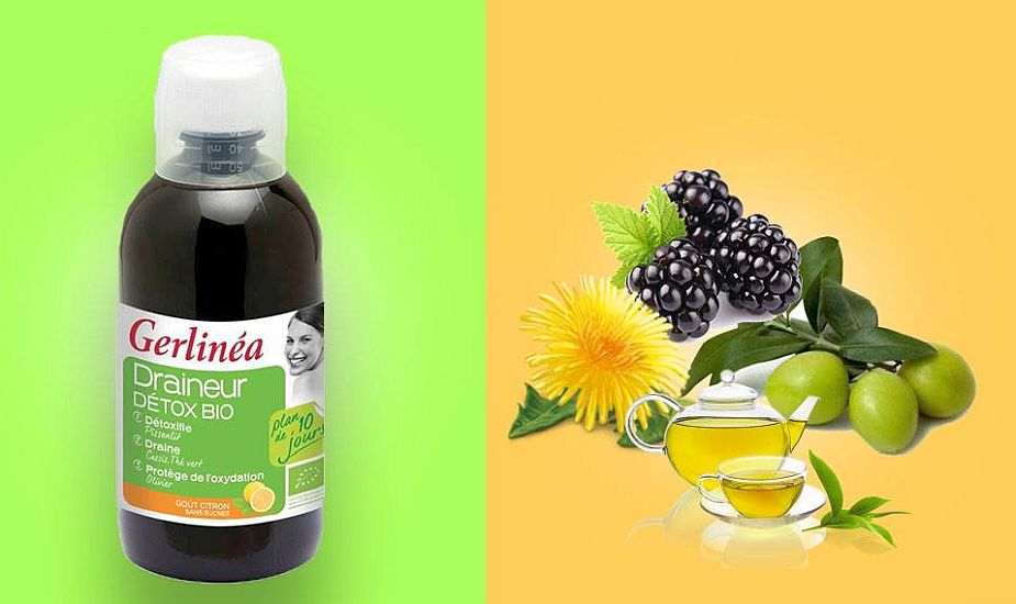 (P) Nutrivita lansează Gerlinéa Drenor Detox Bio, pentru