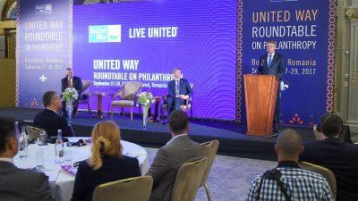 Fundația United Way a adus la București elita donatorilor din lume