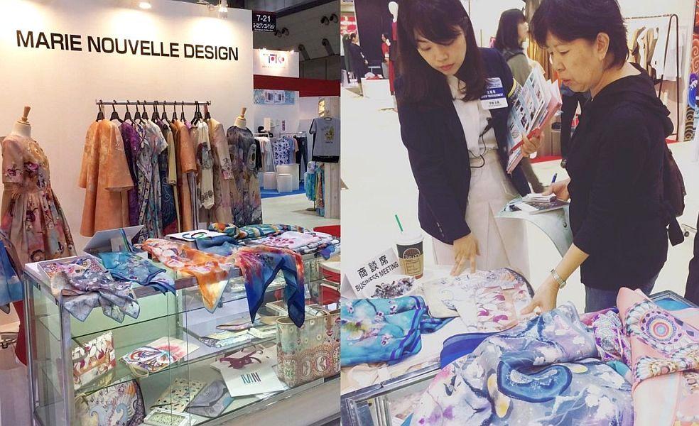 Marie Nouvelle la Fashion World Tokyo