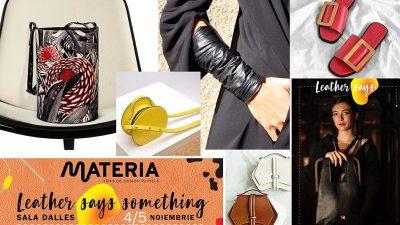 Materia, singurul târg românesc de design contemporan în piele, a devenit european