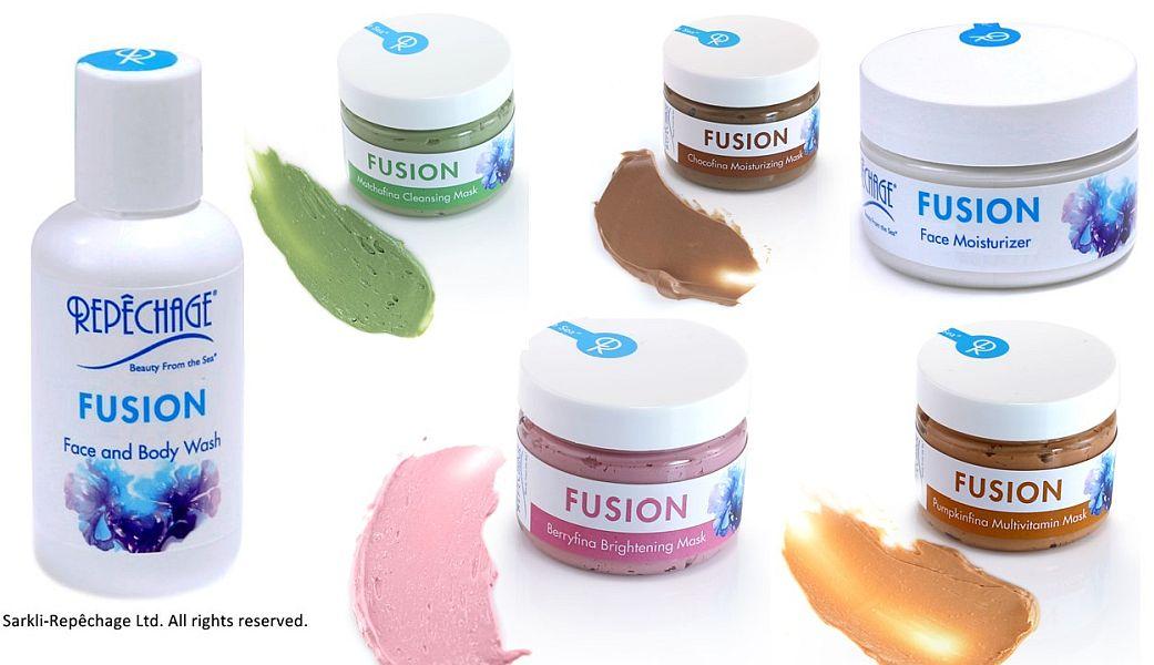 Repechage Fusion măști de față cu ingrediente gourmet
