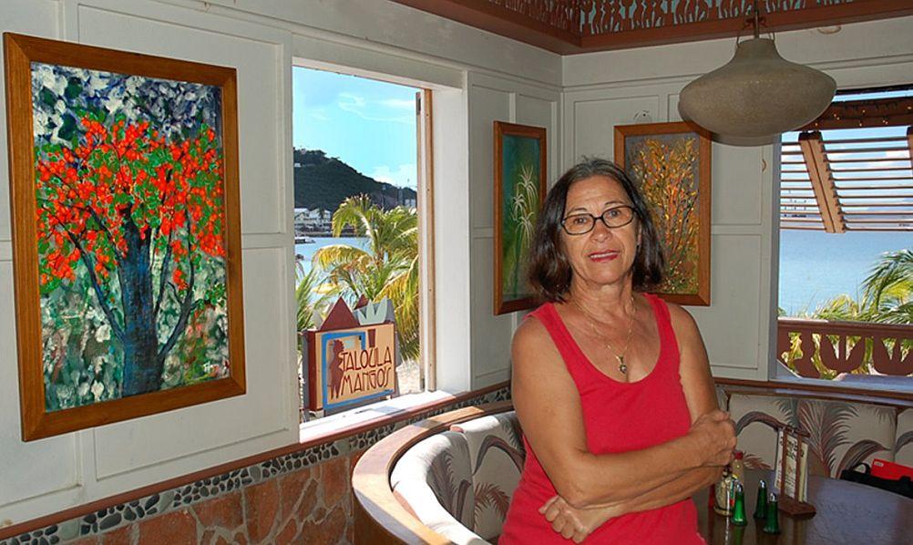 Lucia Trifan, în Caraibe
