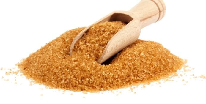zahăr brun